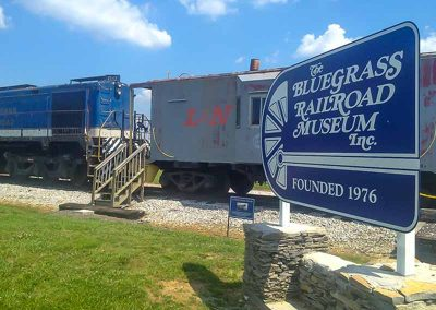 Bluegrass Railroad Museum Lexington kentucky attractions things to do
